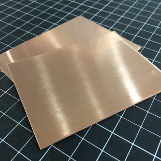 Copper sheet, rectangle