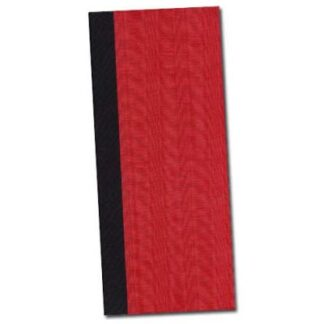 Braided spine journal kit - red moire cover