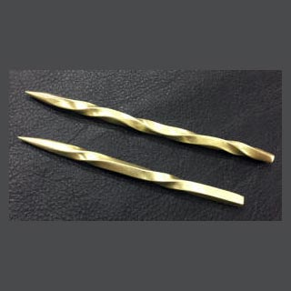 brass stylus four and five inch examples