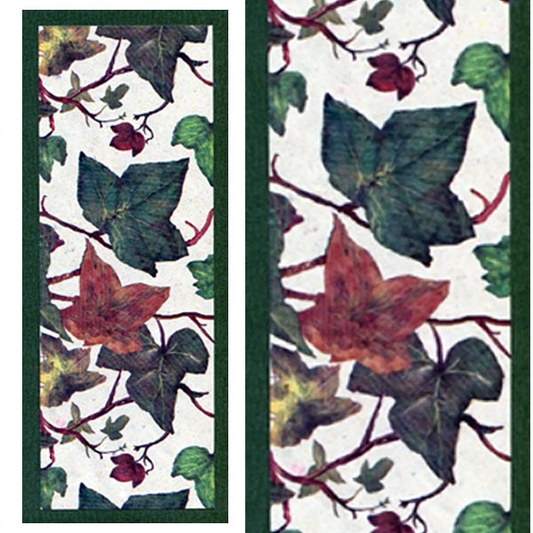 Eight Needle Coptic Stitch Book Kit - Ivy Leaf Cover Choice