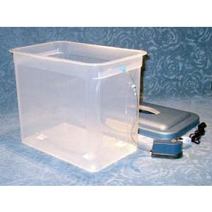 Metal etching tank - large