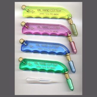 Pistol grip glass cutters
