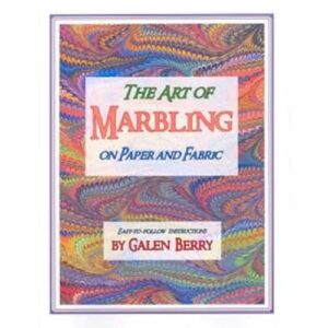 Book - The Art Of Marbling Fabric and Paper