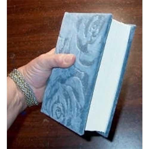 Blue velvet book kit - Blank pages or Book Sheets for The Secret Garden