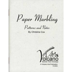 Booklet - Paper Marbling - Patterns and Notes by Christine Cox