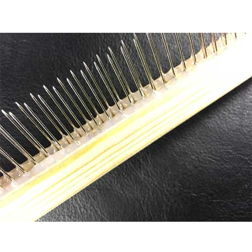 fine tooth comb - paper marbling tool