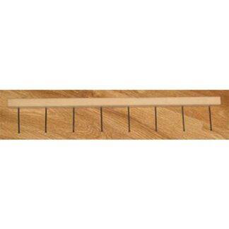 Single rake - paper marbling tool