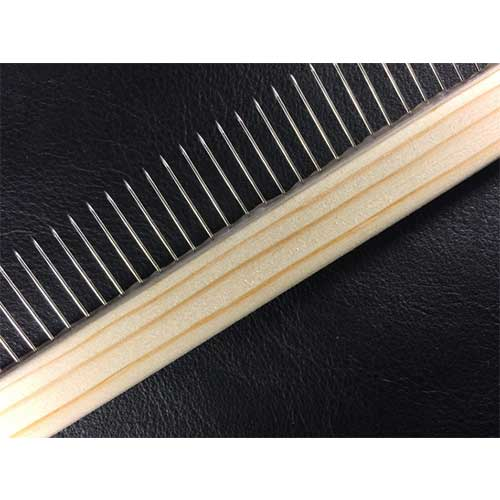 standard tooth comb - paper marbling tool