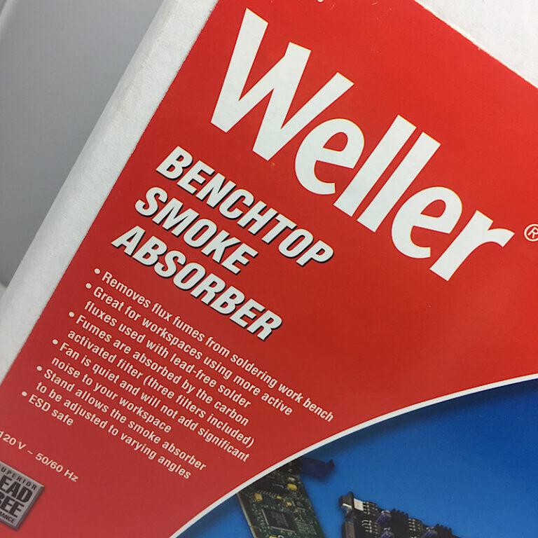 Weller smoke absorber, package detail