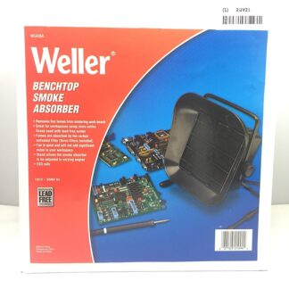 Weller smoke absorber, package