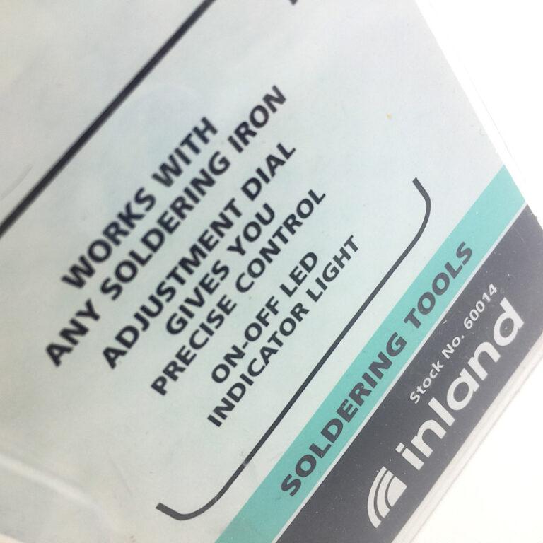 Rheostat Label