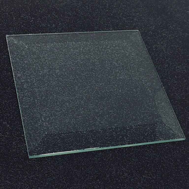 Glass bevel, square